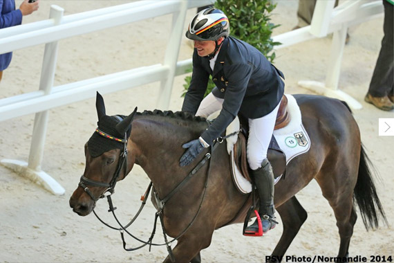 Michael Jung and fischerRocana FST.