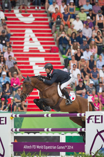 Patrice Delaveau and Orient Express HDC will fly the French flag in Sunday's Top-Four Jumping Final.