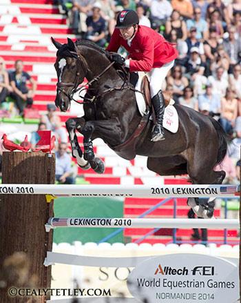 Canada's Eric Lamaze and Zigali P S.