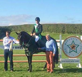 Talks Cheap after winning the The Irish Breeders Classic Final.
