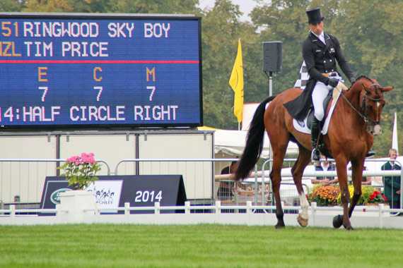 Tim Price and Ringwood Sky Boy.