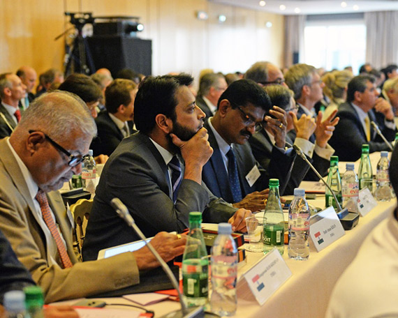Delegates at the 48th International Conference of Horseracing Authorities in Paris. Photo: Mathea Kelley
