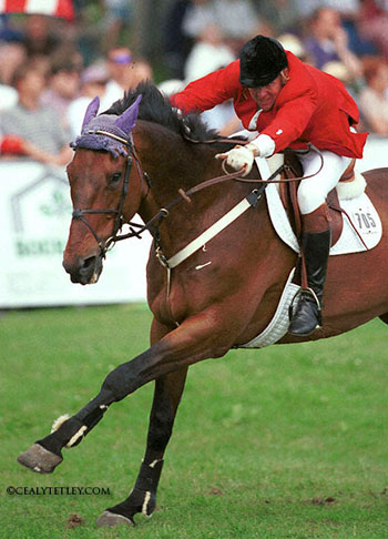 Cagney and Eric Lamaze.