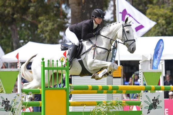 Jessica Manson and Australian Stock Horse Legal Star won the prestigious FEI Classics at the Australian International 3 Day Event in Adelaide.