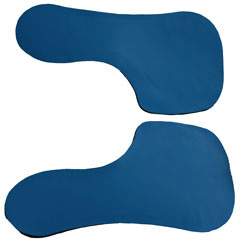 """These are the plates that are sandwiched between the top and the felt bottom of the Equalizer pad. High tech durable plates are sealed in neoprene. The plates bend with the movement of the horse, but will spread out pressure in a high-pressure area, thus eliminating """"hot spots""""."""