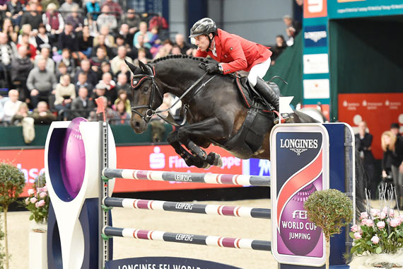 Hans-Dieter Dreher and Embassy ll won the Leipzig leg of the World Cup Jumping series at the weekend.
