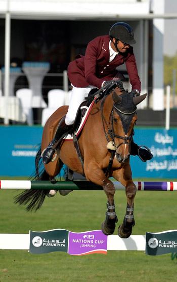 Sheikh Khalid Bin Ali Al Thani (Qatar) and Vienna Olympic.