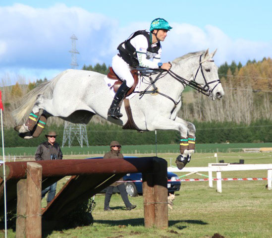 CCI3* leader Shane Rose and CP Qualified.