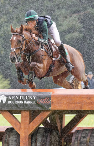 Ireland's Cathal Daniels was second in the CIC3* on Rioghan Rua.