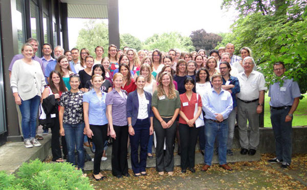 Scientists at the Dorothy Russell Havemeyer International Equine Genome Mapping Workshop.