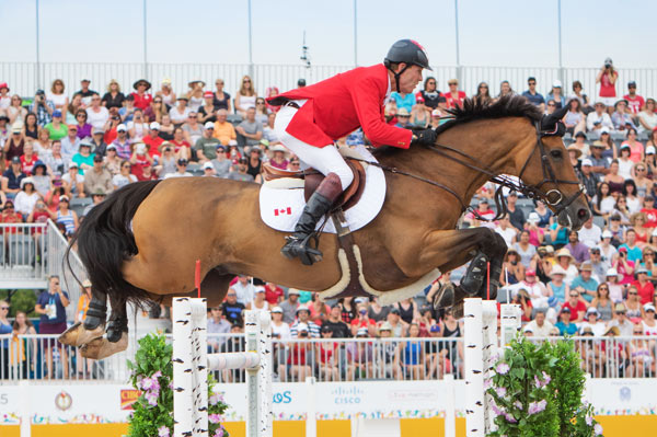 Ian Millar was the highest placing Canadian rider, finishing in 16th place.