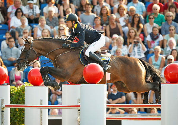 Cassio Rivetti (Ukraine) and Vivant finished second in the individual rankings.