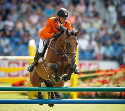 Jeroen Dubbledam and Zenith helped the Dutch team move up to second in the team rankings.