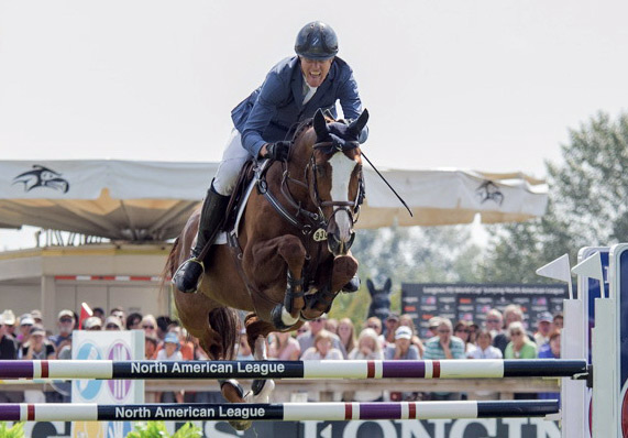 Longtime partners and perennial crowd favorites Rich Fellers (USA) and Flexible claimed victory at the Longines FEI World Cup Jumping North American League qualifier at Thunderbird Show Park in Langley, British Columbia, on Sunday.