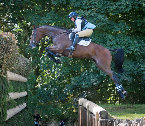 Kitty King and Ceylor LAN were the best placed British combination at Blenheim, finishing third.