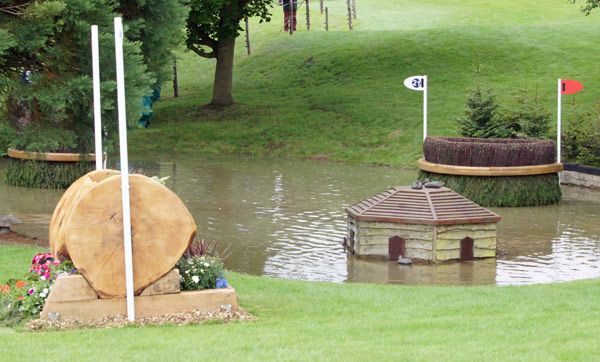 There are five jumping efforts required at the famous Land Rover Trout Hatchery (20-21).