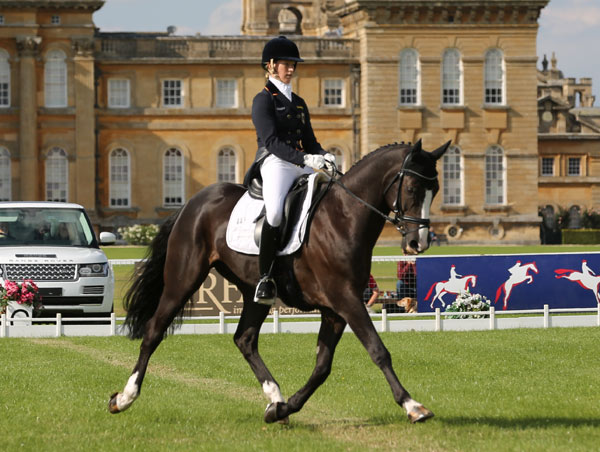 Sandra Auffarth and Ispo lead after the first dressage day at Blenheim.
