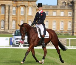 William Fox-Pitt is in sixth place with Cool Mountain.