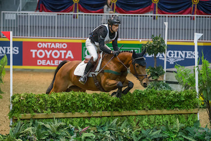Waylon Roberts won his record eighth $20,000 Horseware Indoor Eventing Challenge on West River at the Royal Horse Show in Toronto on Saturday night.