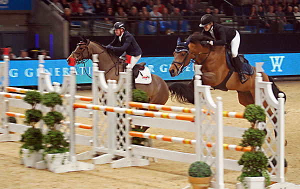 Chloe Aston (GBR) on Chateau De Brion Quainton and Shane Breen (IRL) on Special K IV in the S9 Knockout Competition