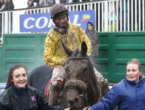 Mountainous returns to scale with Jamie Moore after winning the Welsh Grand National for the second time.