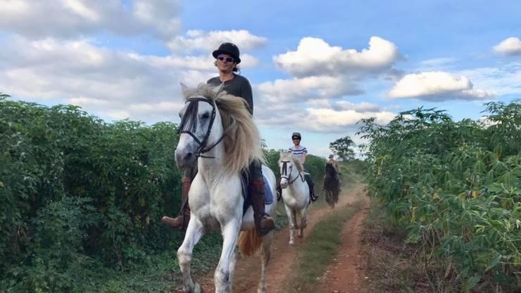 Thailand - horse trail riding - Bangkok - Khaoyai