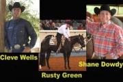 Cleve Wells, Rusty Green & Shane Dowdy World Champion Western Pleasure Trainers