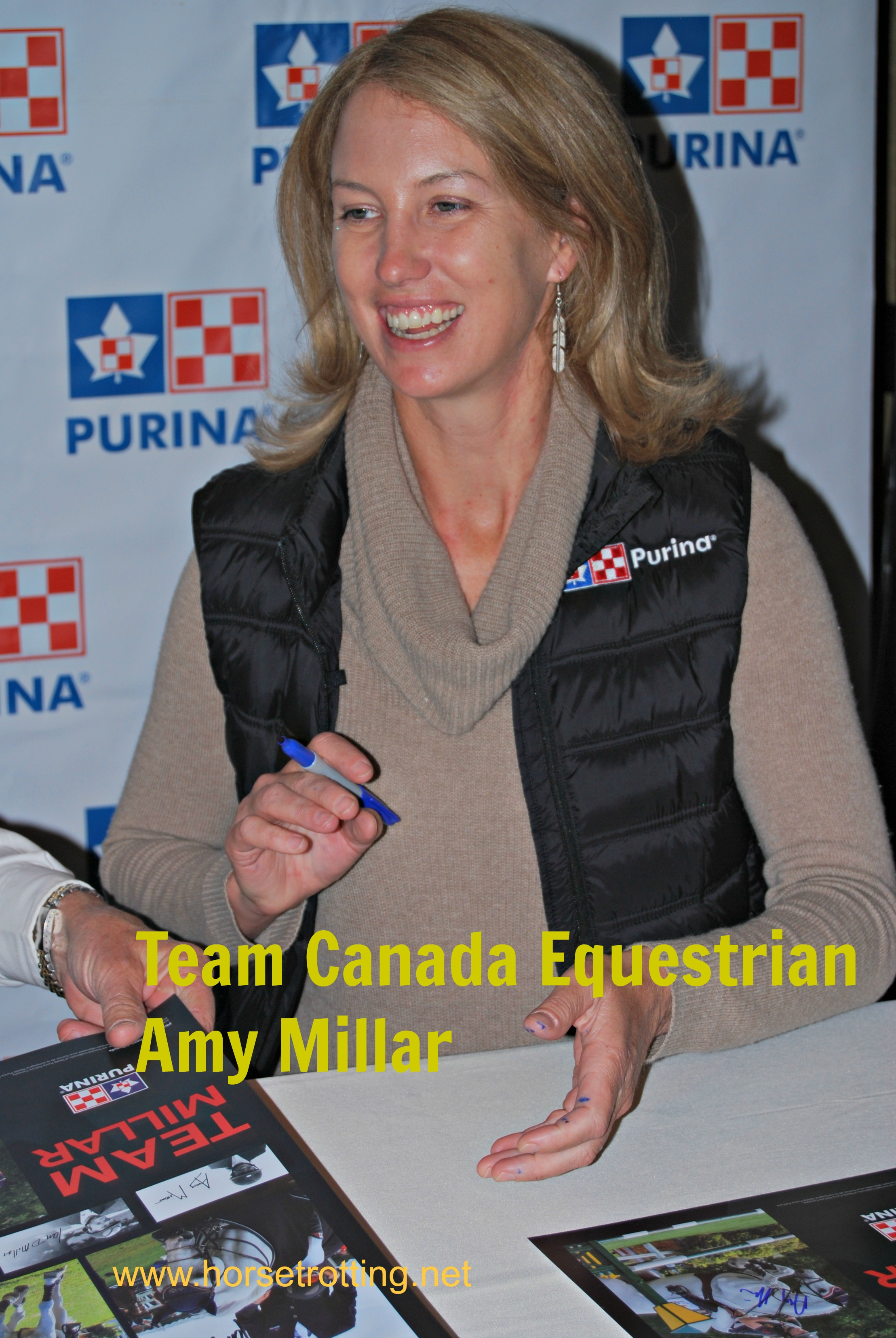 Celebrity Alert! Meet Team Millar Canada's Equine Royal Family