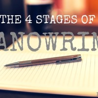 The 4 Stages of NaNoWriMo