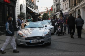 Aston Martins in East Street