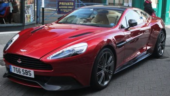 Aston Martin in East Street