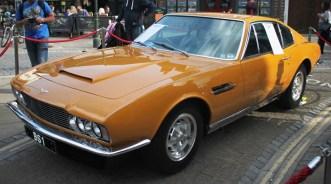 The Persuader's Aston Martin