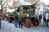Joseph Dovey's steam powered cider tanker