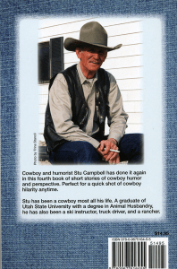 Comedy Around the Corral - back cover