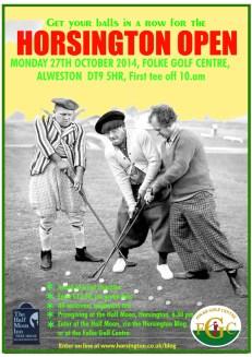 Horsington Open poster
