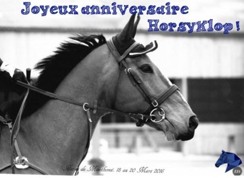 joyeux anniversaire horsy