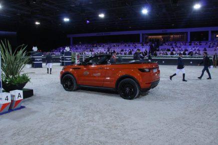 Evoque cabriolet Land Rover Longines