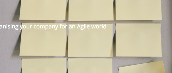 Reorganising your company for an Agile world