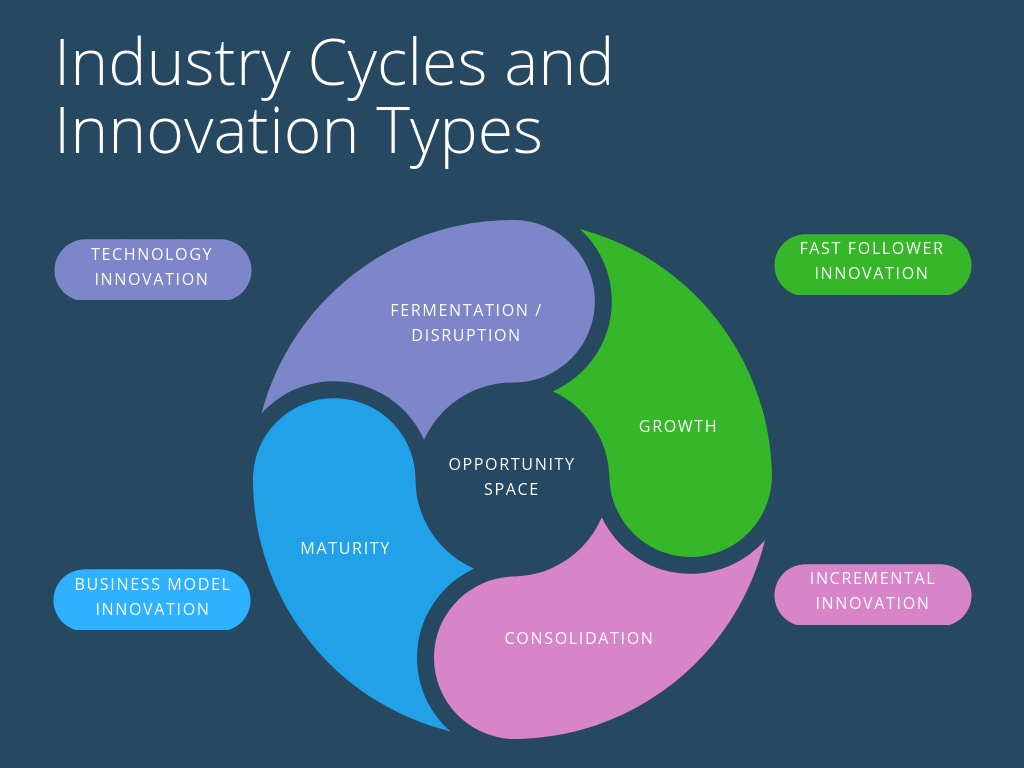 Industry Cycles and Innovation Types