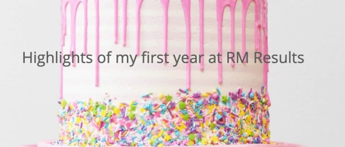 Highlights of my first year at RM Results