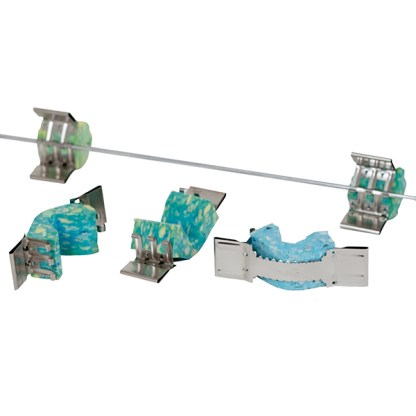 Qlipr crop clamping system