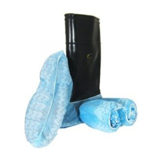 Disposable-Blue-Polypropylene-Shoe-Covers
