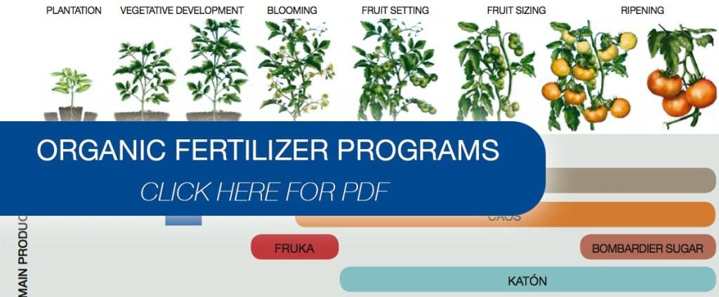 Hort-Americas-Organic-Fertilizer-Programs