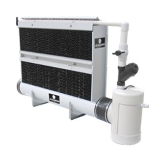 Schaefer-wet-wall-cooling-system