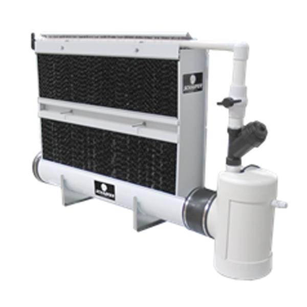 Schaefer-wet-wall-cooling-system
