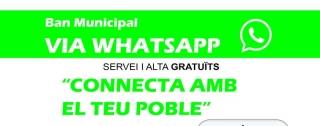 L'Ajuntament d'Almàssera connecta amb els ciutadans via Whatsapp