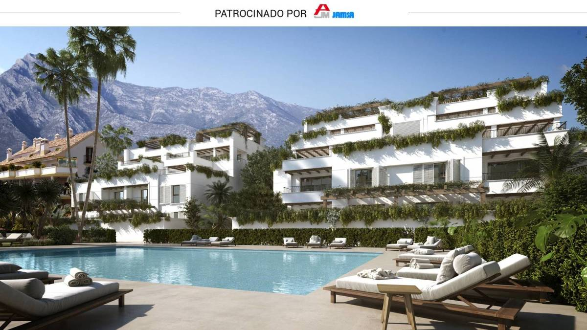 Jamsa construye en Marbella su conjunto de viviendas de lujo más exclusivo