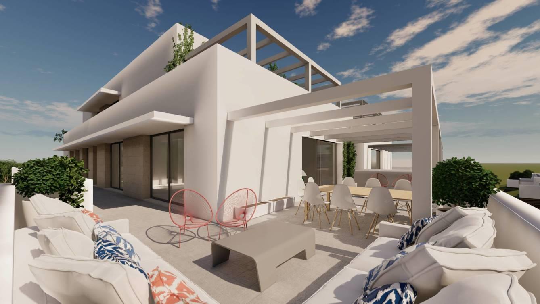 Senda Chica. Promoción de 102 viviendas de Lemon Promociones en Sotogrande.