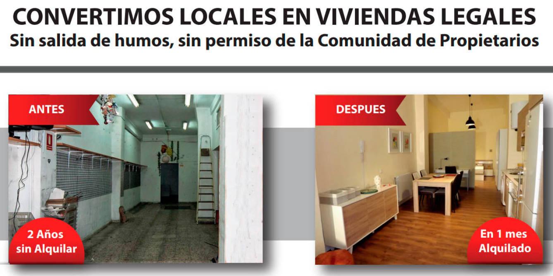 Uno de los reclamos publicitarios de la inmobiliaria de Díaz.