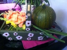 the floral trug